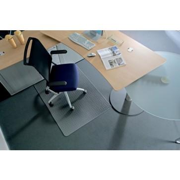 """Székalátét, kemény felületre, E forma, 150x120 cm, RS OFFICE """"Roll-o-Grip"""""""