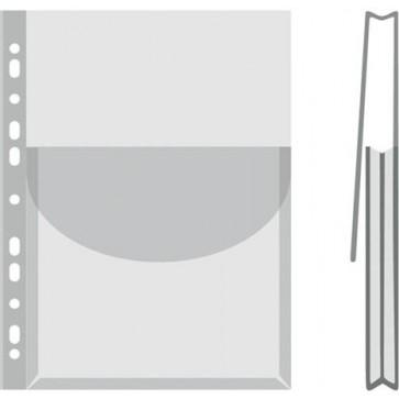 Katalógustartó genotherm, lefűzhető, A4, 170 mikron, víztiszta, 27 mm, DONAU