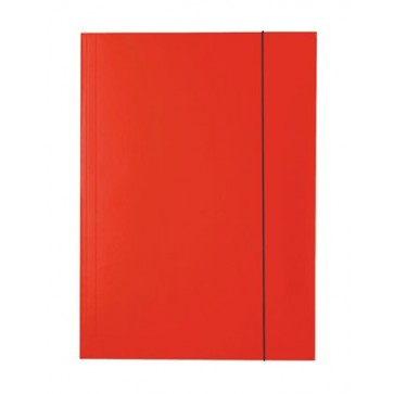 "Gumis mappa, 15 mm, karton, A4, ESSELTE ""Economy"", piros"