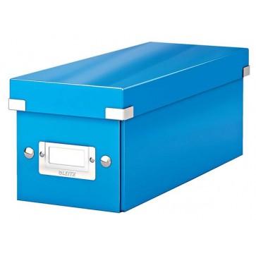 """CD tároló doboz, LEITZ """"Click&Store"""", kék"""