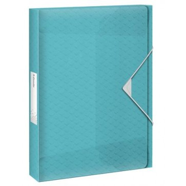 "Gumis mappa, 25 mm, PP, A4, ESSELTE ""Colour`Ice"", kék"