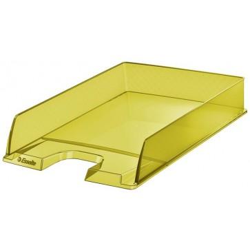"Irattálca, műanyag, ESSELTE ""Colour` Ice"", sárga"