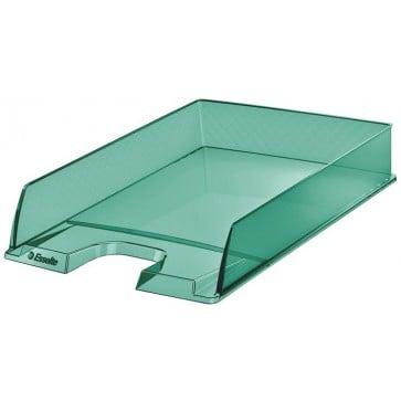 "Irattálca, műanyag, ESSELTE ""Colour` Ice"", zöld"