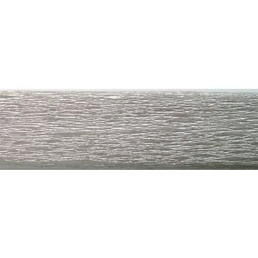 Krepp-papír, 50x200 cm, VICTORIA, ezüst