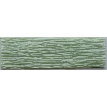 Krepp-papír, 50x200 cm, VICTORIA, gyöngyház zöld