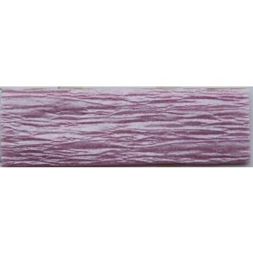 Krepp-papír, 50x200 cm, VICTORIA, gyöngyház lilás rózsaszín
