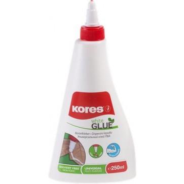 """Hobbyragasztó, 250 g, KORES """"White Glue"""""""