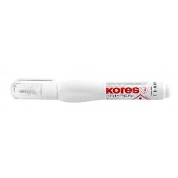 """Hibajavító toll, 10 g, KORES """"Tri Pen"""""""