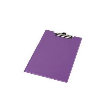 Felírótábla, fedeles, A4, sarokzsebbel, PANTAPLAST, pasztell lila