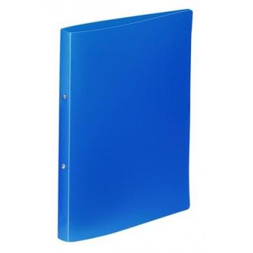 """Gyűrűs dosszié, 2 gyűrű, 25 mm, A4, PP, VIQUEL """"Standard"""", kék"""