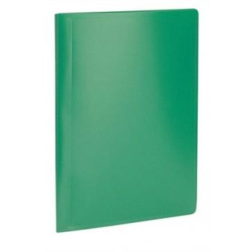 """Bemutatómappa, 20 zsebes, A4, VIQUEL """"Standard"""", zöld"""