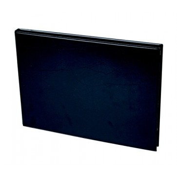 Villámzáras mappa, A4, fekvő, VICTORIA, fekete