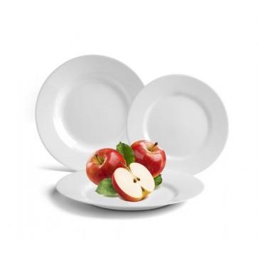 """Desszertes tányér, fehér, 19 cm, 24 db-os szett, , """"GastroLine"""""""