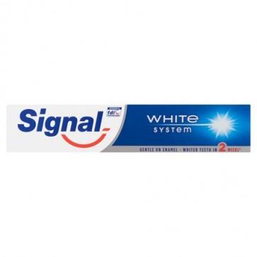"""Fogkrém, 75 ml, SIGNAL """"White System"""""""