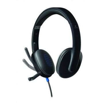"""Fejhallgató, mikrofonnal, USB csatlakozás, LOGITECH """"H540"""""""