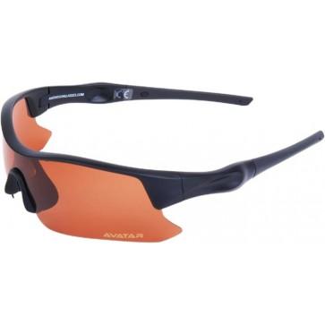 """Napszemüveg HD polarizált lencsével, AVATAR """"Shield"""", fekete"""