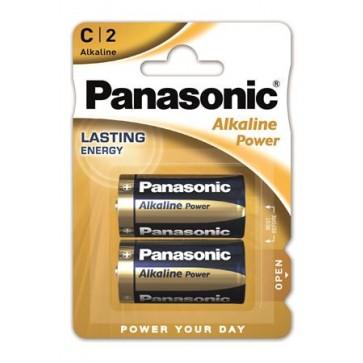 "Elem, C baby, 2 db, PANASONIC ""Alkaline power"""