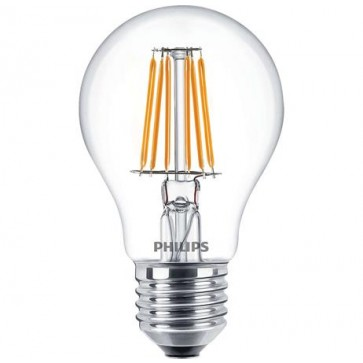 LED izzó, E27, normál, 6W, 2700K, A60, PHILIPS