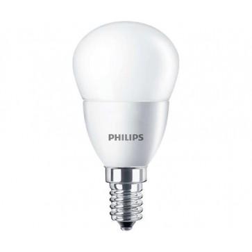 """LED izzó, E14, csillár, 7W, 830lm, 230V, 4000K, P48, PHILIPS """"CorePro"""""""