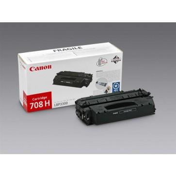 CRG-708H Lézertoner i-SENSYS LBP 3300, 3360 nyomtatókhoz, CANON, fekete, 6k
