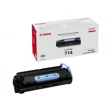 CRG-714 Lézertoner i-SENSYS fax L3000 nyomtatóhoz, CANON, fekete, 4,5k