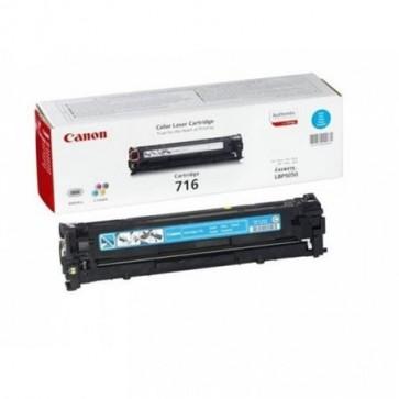 CRG-716C Lézertoner i-SENSYS LBP 5050 nyomtatóhoz, CANON, cián, 1,5k