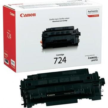 CRG-724S Lézertoner i-SENSYS LBP 6750DN nyomtatóhoz, CANON, fekete, 6k