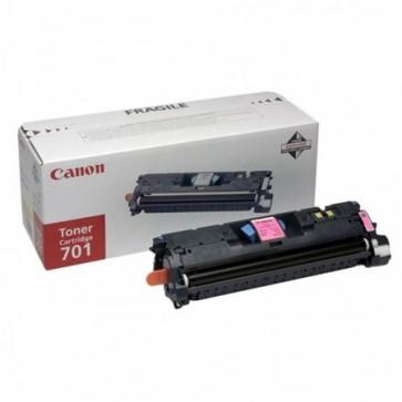 EP-701M Lézertoner Laser Shot LBP 5200, i-SENSYS MF8180C nyomtatókhoz, CANON, magenta, 4k