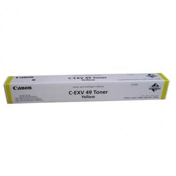 C-EXV49Y Lézertoner IR C250, C350, C351 nyomtatókhoz, CANON sárga, 36k