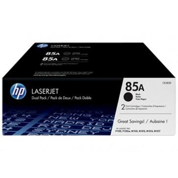 CE285AD Lézertoner LaserJet P1102 nyomtatóhoz, HP 85A, fekete, 2*1,6k