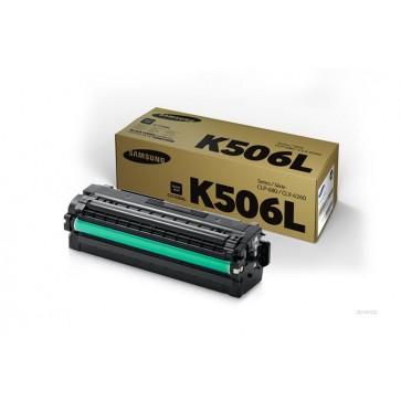 CLT-K506L Lézertoner CLP 680ND, CLX 6260 nyomtatókhoz, SAMSUNG fekete, 6k