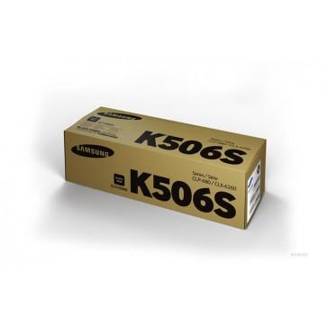 CLT-K506S Lézertoner CLP 680ND, CLX 6260 nyomtatókhoz, SAMSUNG fekete, 2k