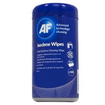 """Tisztítókendő, izopropil alkohollal, 100 db, AF """"Isoclene"""""""