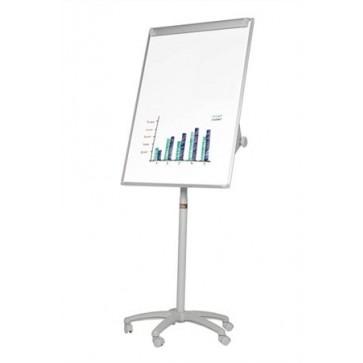 Flipchart tábla, mágneses felület, 70x100 cm, mobil,  VICTORIA
