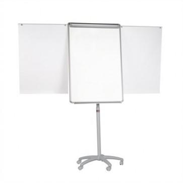 Flipchart tábla, mágneses felület, 70x100 cm, 2 db segédkarral, mobil, VICTORIA