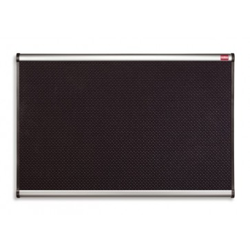 """Habtábla, tűzhető, fekete, 120x180 cm, alumínium/műanyag keret, NOBO """"Prestige"""""""
