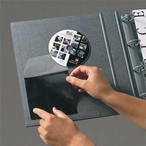 CD tartó zseb, öntapadó, 127x127 mm, 3L