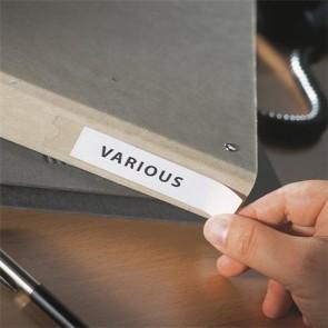Címketartó zseb, 15x102 mm, öntapadó, 3L