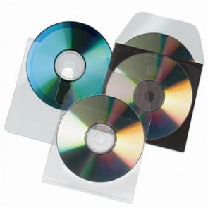 CD tartó zseb, füllel ellátott, öntapadó, 127x127 mm, 3L