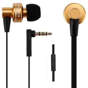 """Fülhallgató, mikrofon, AWEI """"ES900i"""", arany"""
