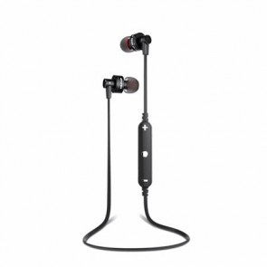 """Fülhallgató, mikrofon, vezeték nélküli, Bluetooth, AWEI """"A990BL"""", fekete"""