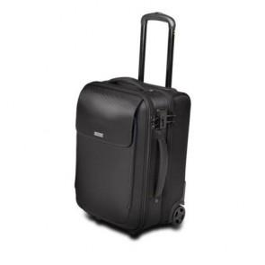 "Utazó bőrönd, gurulós, notebook rekesz 17"", KENSINGTON ""SecureTrek"", fekete"