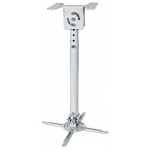 Projektor konzol, univerzális, mennyezeti, állítható hossz, 57,5-82,5 cm, 20 kg-ig, MANHATTAN
