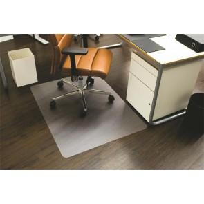 """Székalátét, kemény felületre, E forma, 120x150 cm, RS OFFICE """"Ecoblue"""""""