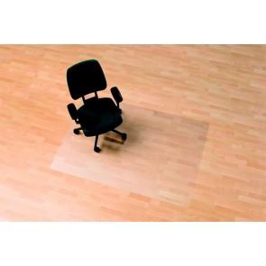 """Székalátét, kemény felületre, E forma, 75x120 cm,  RS OFFICE  """"Ecoblue"""""""