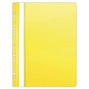 Gyorsfűző, lefűzhető, PVC, A4, DONAU, citromsárga