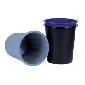 Papírkosár, 14 liter, DONAU, kék