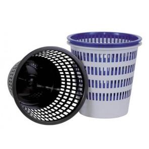 Papírkosár, 12 liter, DONAU, kék