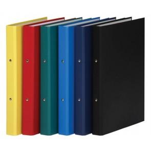Gyűrűs könyv, 2 gyűrű, 35 mm, A4, PP/karton, DONAU, fekete