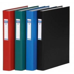 Gyűrűs könyv, 2 gyűrű, 40 mm, A4, PP/karton, DONAU, kék